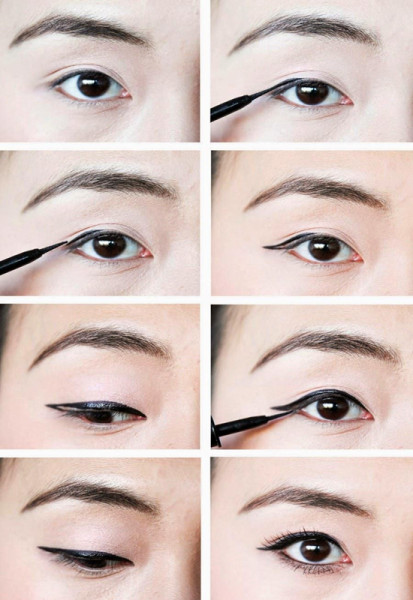 different eyeliner styles tumblr