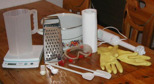 Способ изготовления мыла в домашних условиях