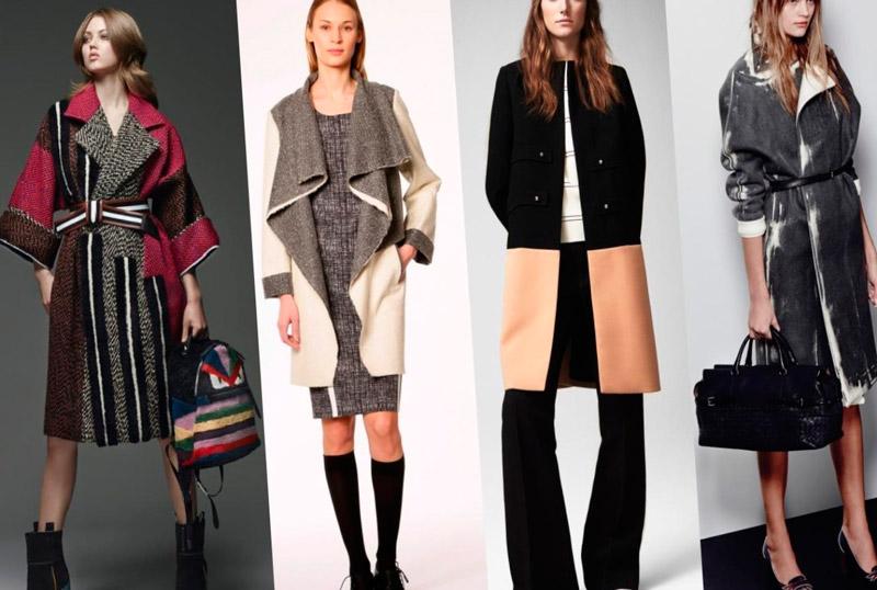 зима 2015 2016 верхняя одежда  женская