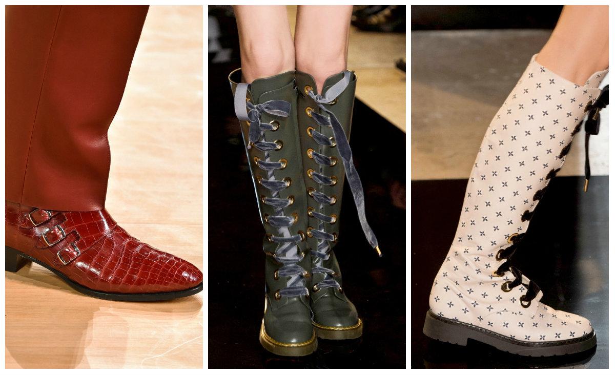 Какие сейчас модные обувь