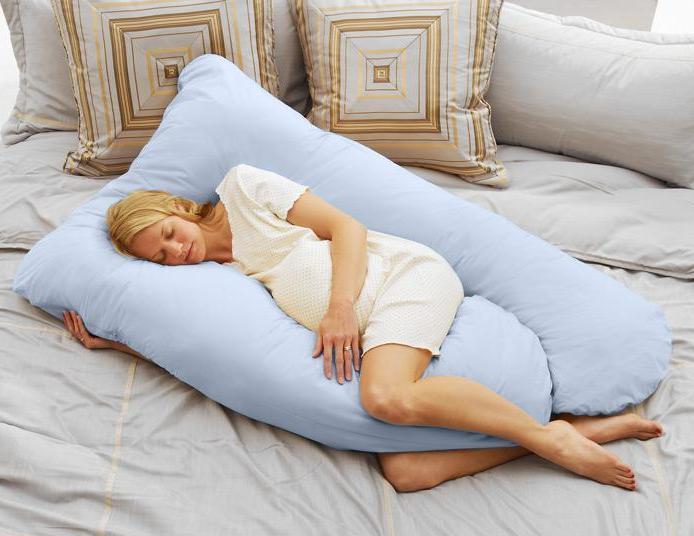 Как удобнее спать беременным