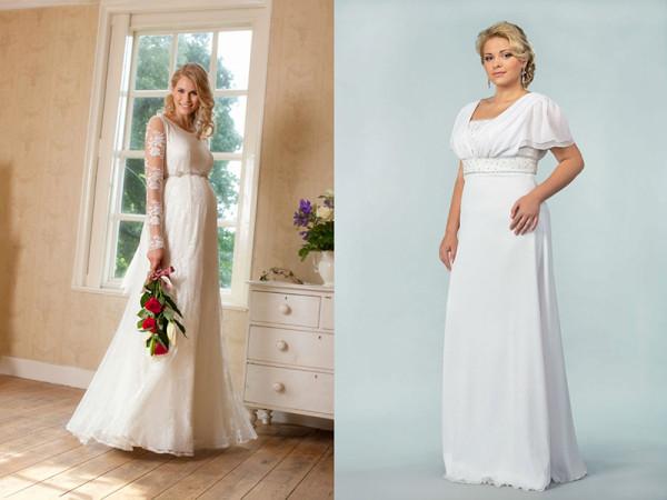Платье для свадьбы беременным 81