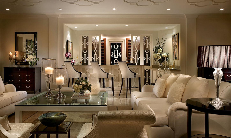 Дизайн интерьера в стиле арт деко фото