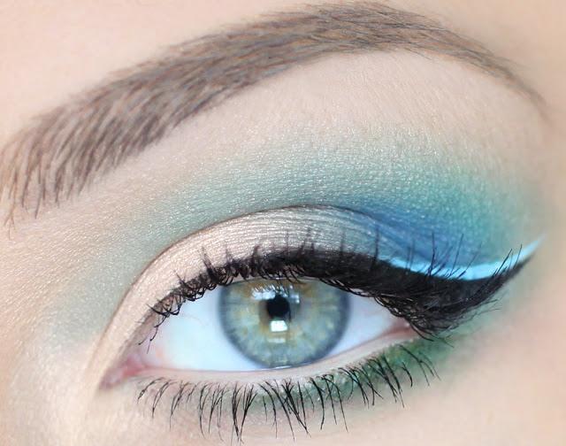 Макияж с фиолетовыми тенями для карих, зеленых и др глаз фото