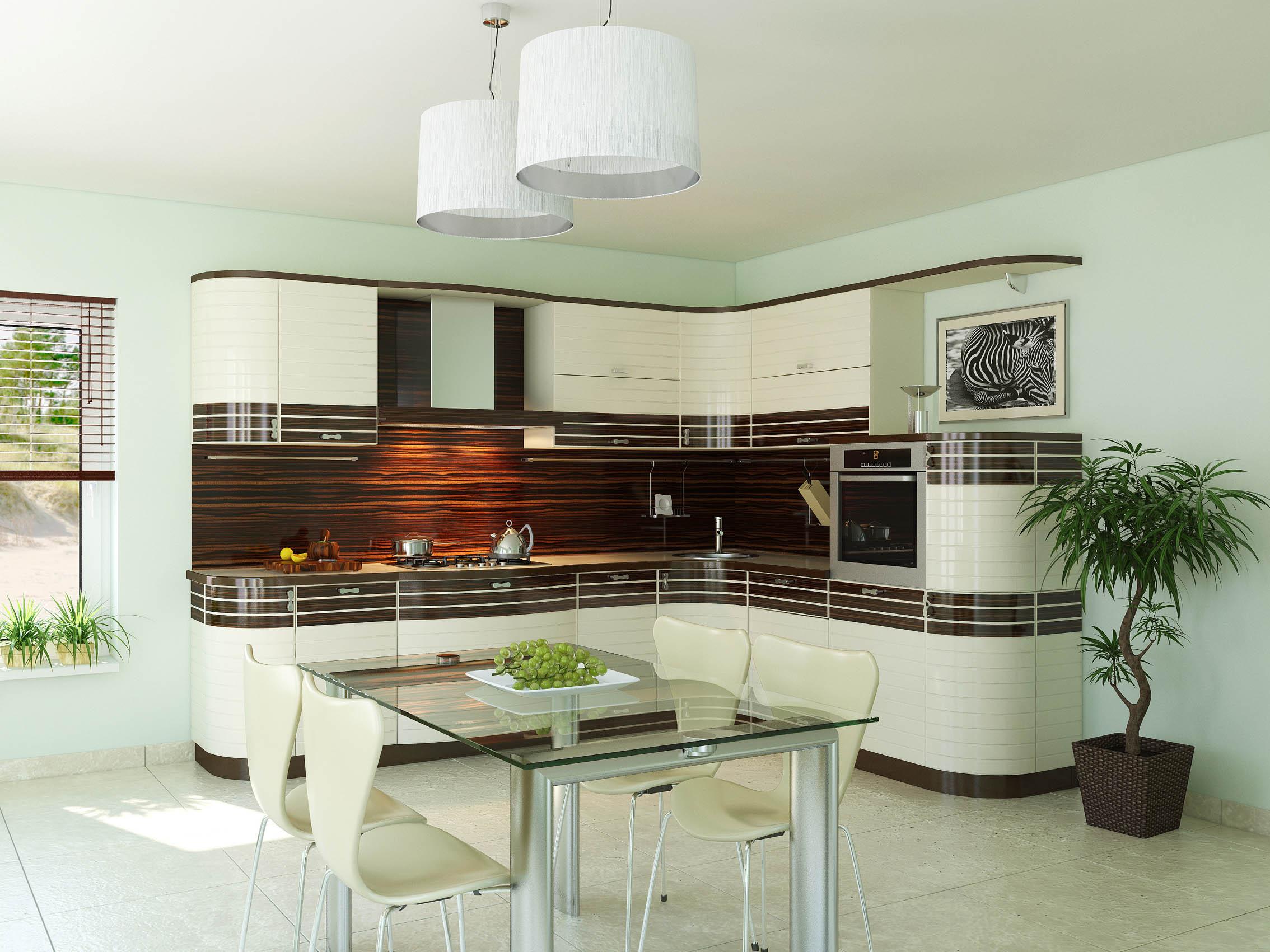 кухни модерно фото