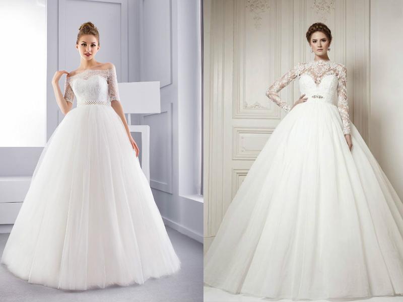 Какие свадебные платья лучше