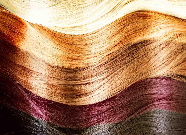 Красивый цвет волос и краска