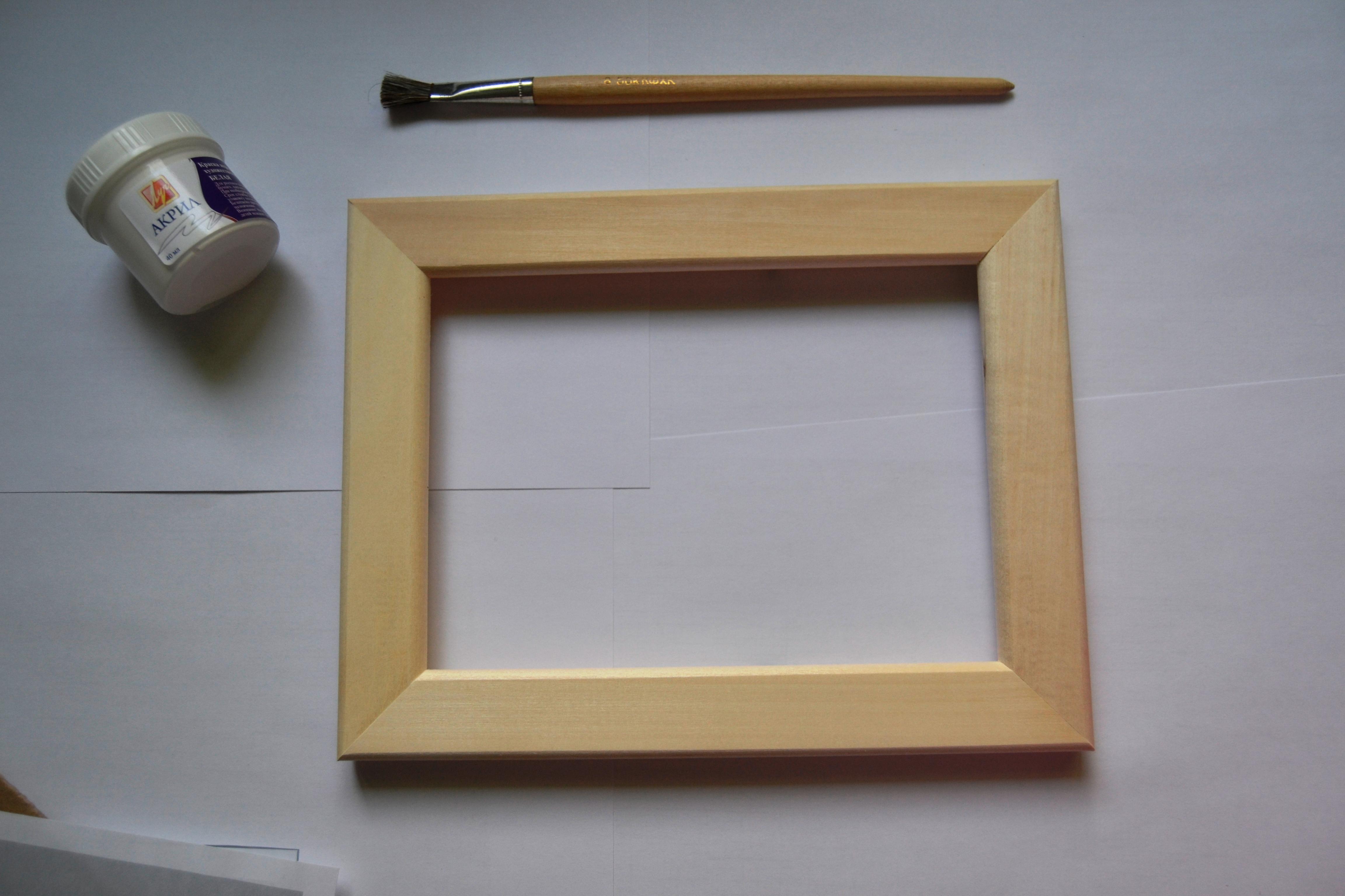 Деревянная рамка для украсить своими руками 41