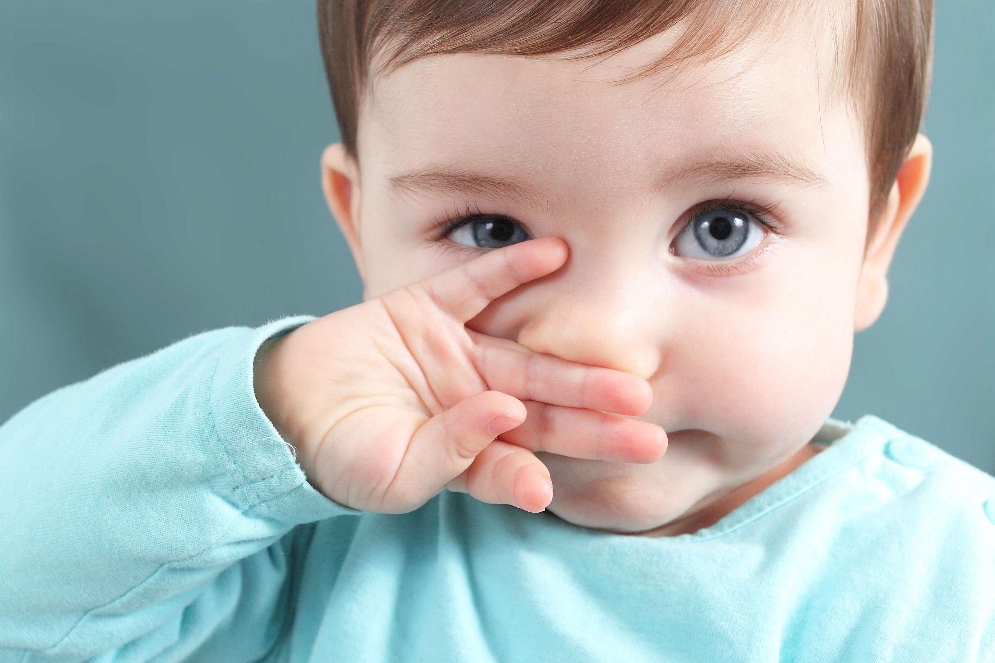 Ринит у ребенка фото