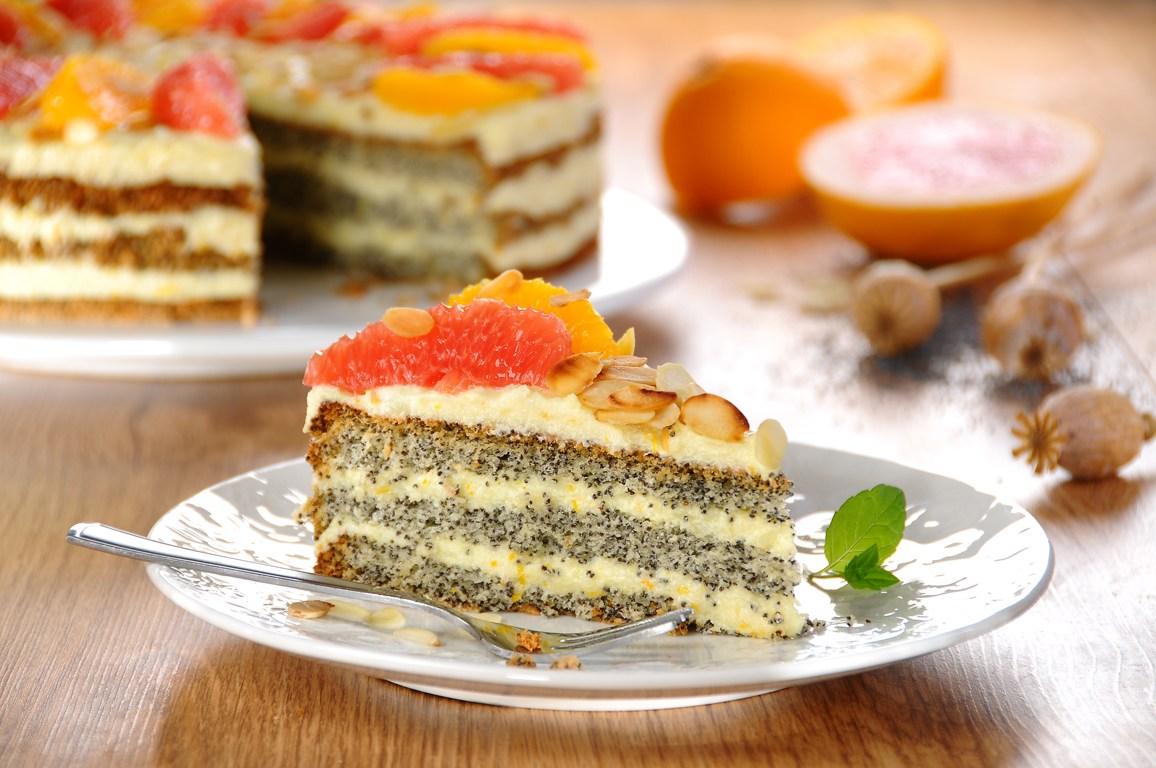 Рецепты торты с маком