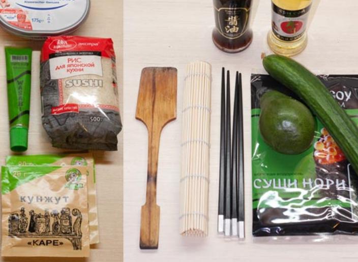 Как готовить суши в домашних условиях ингредиенты