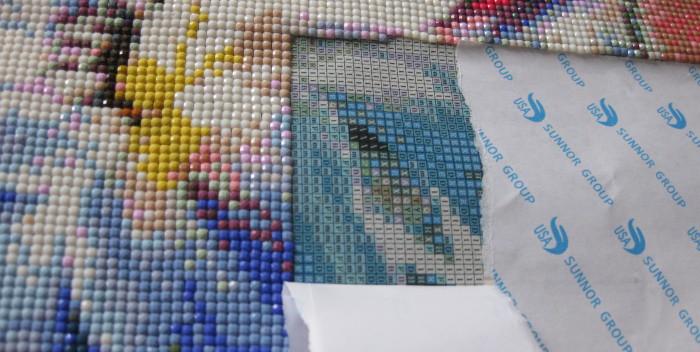 как сделать алмазную мозаику по фото