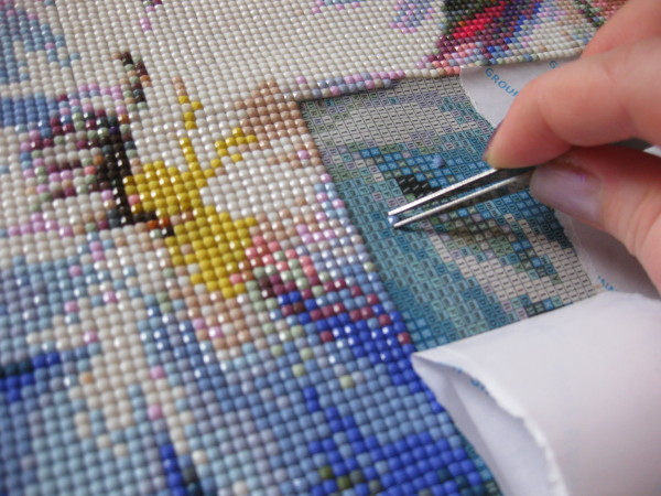 Как правильно сделать алмазную мозаику