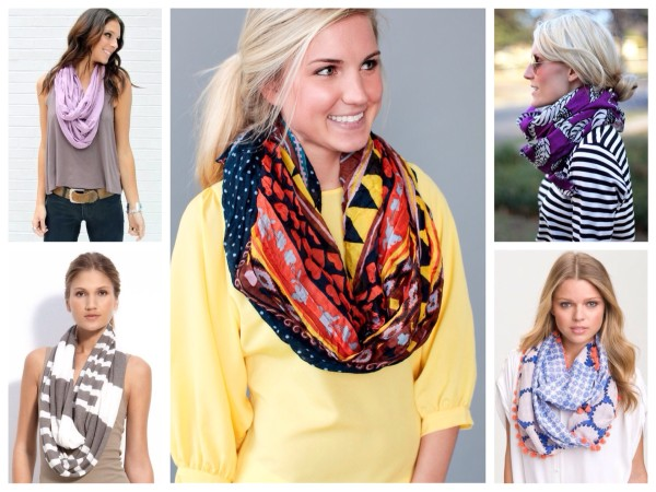 шарфы женские как носить