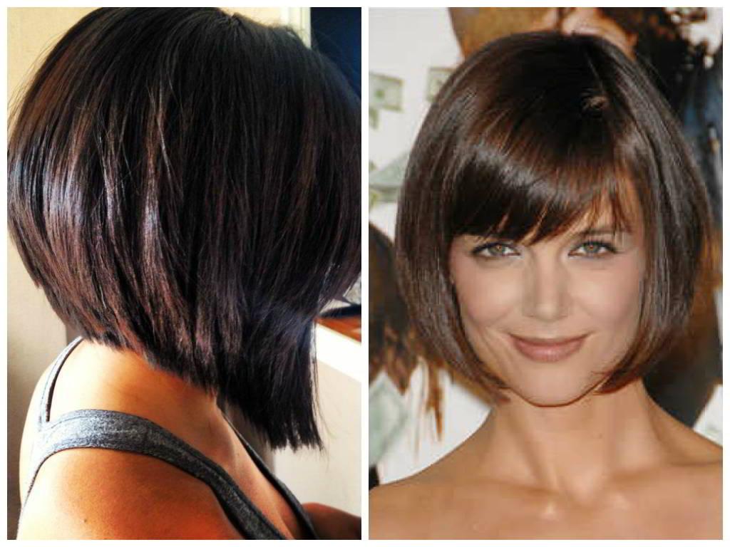 Причёски на средние волосы каре