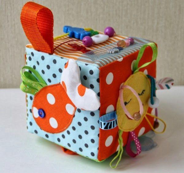 Шар из ткани: игрушка ребенку до года своими руками 82