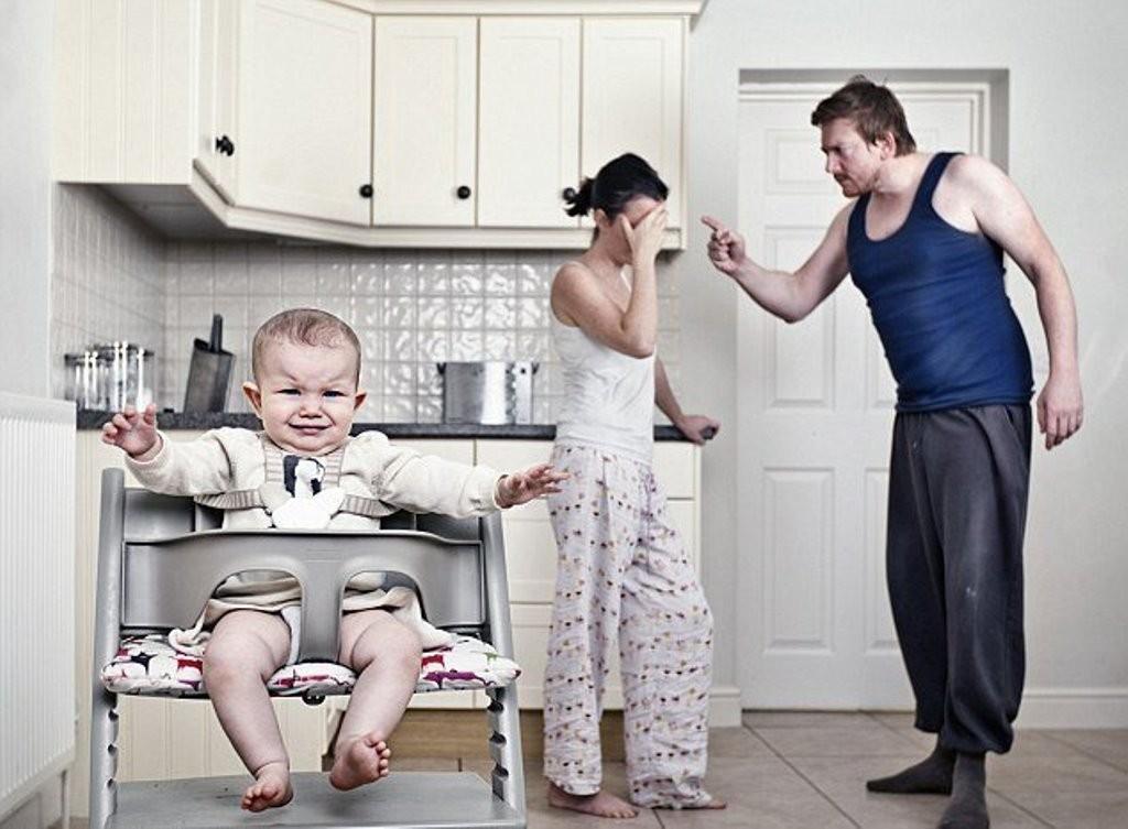 того, муж агрессивен после развода была очень