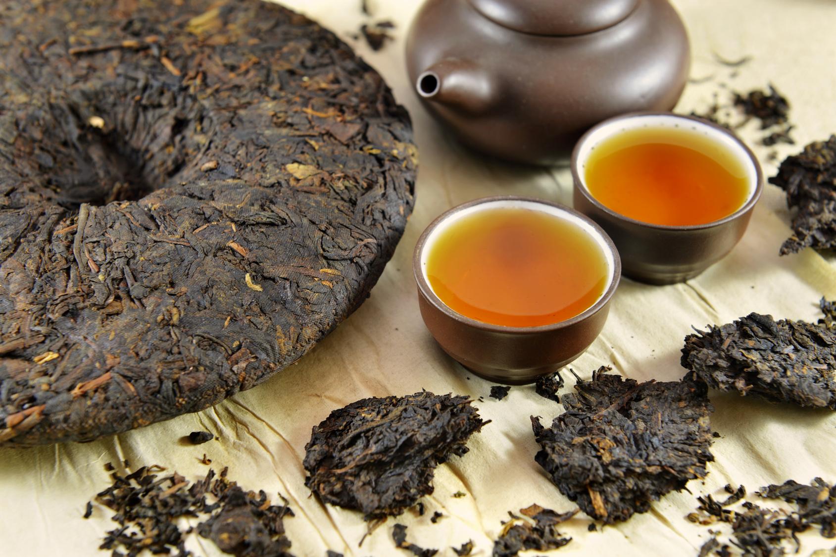 Высококачественный китайский чай пу эр 7 летней выдержки
