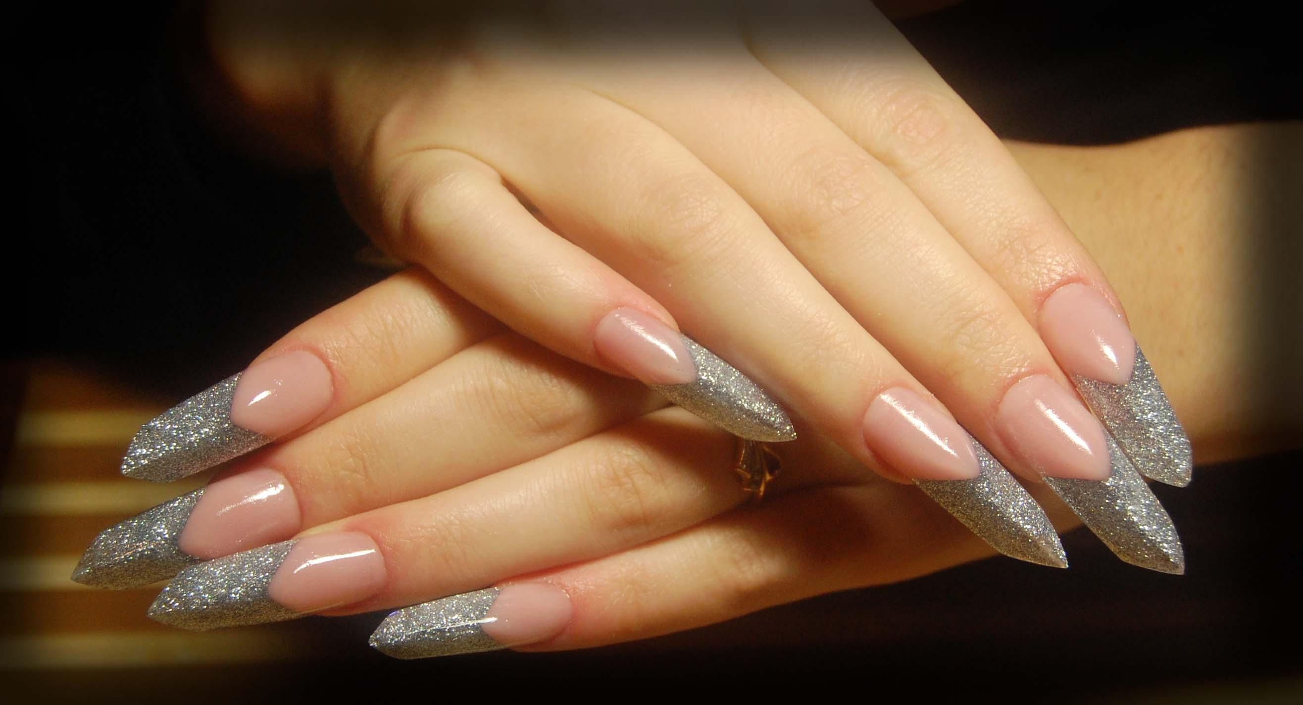 Наращивание ногтей гелем. Видео 15