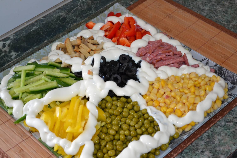 Салат недорогой и вкусный
