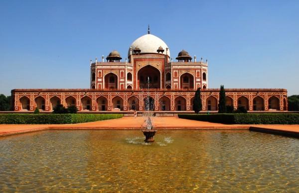 Гробница Хумаюна. Индия