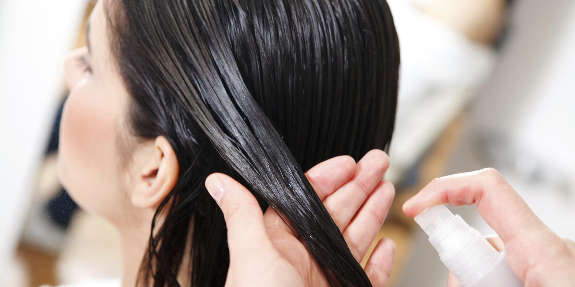 Увлажняем волосы своими руками 5