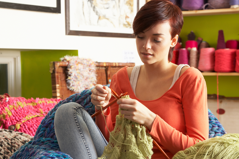 Подработка вязаньем