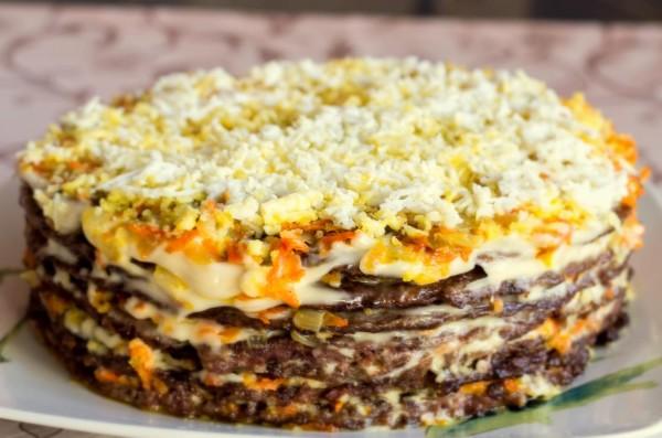 recept-pechenochnogo-torta-iz-blinov