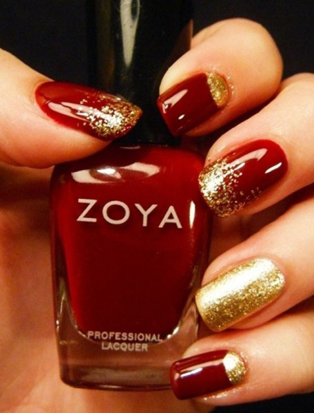 red-golden-manicure-15