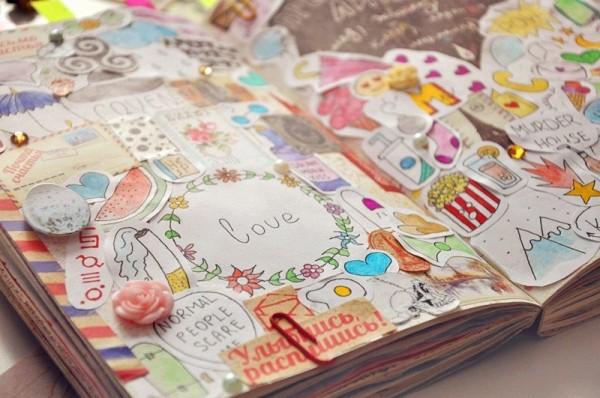 Как сделать дневник аниме своими руками 55