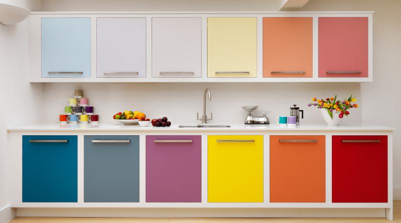 Какой лучше цвет стен для кухни