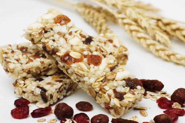 Portein bars with dried fruit