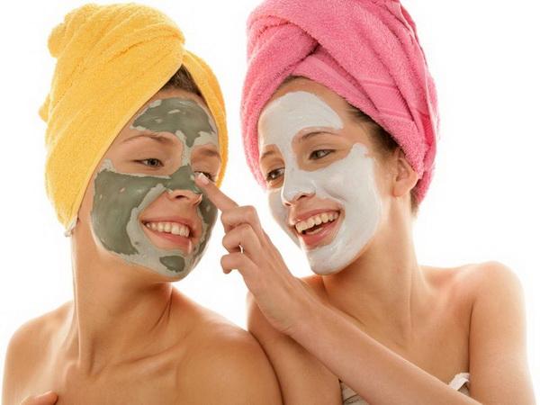 маски в бане для тела