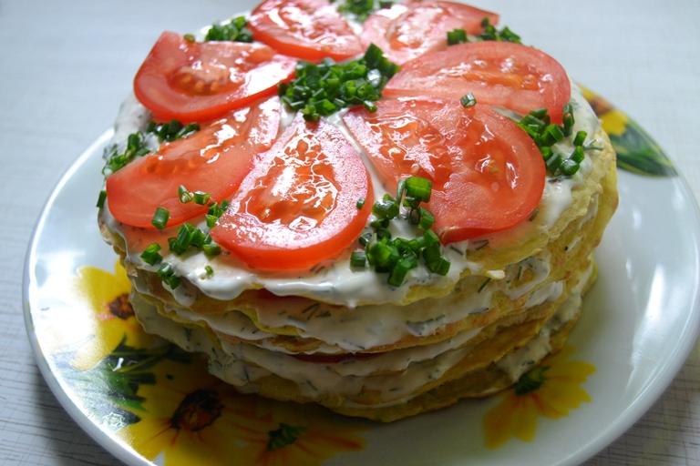 Диетический кабачковый торт рецепт пошагово