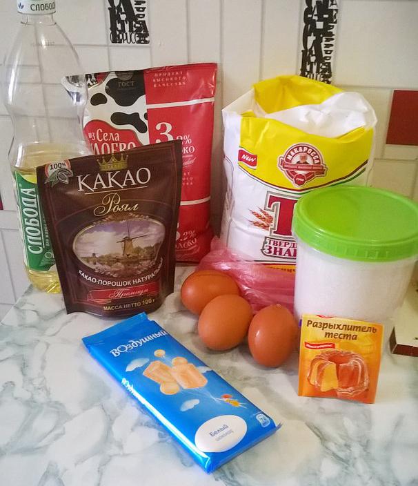 Как приготовить шоколадные маффины с фото