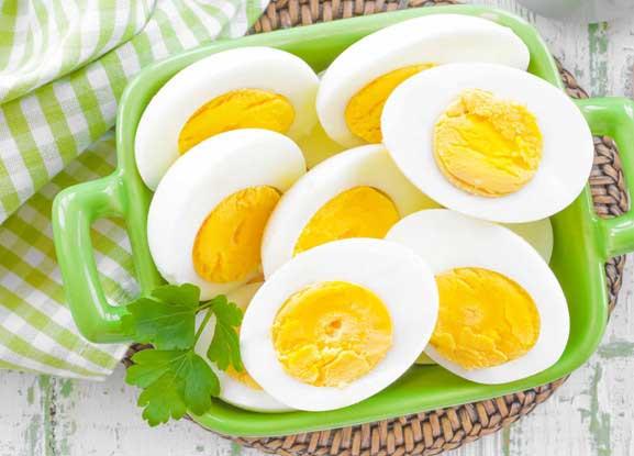 Вареные яйца как хранить