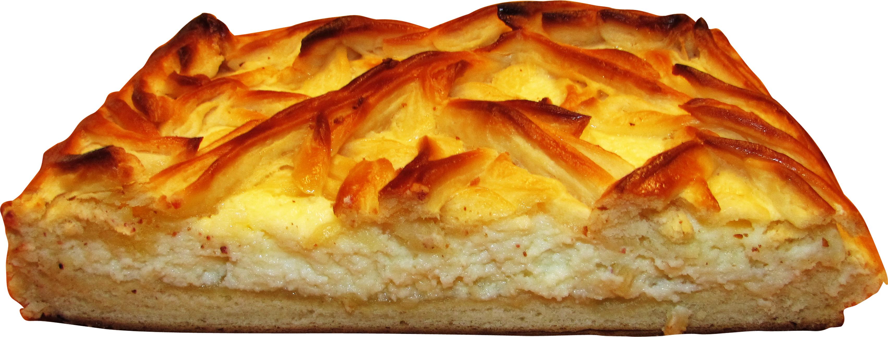 Пирог из дрожжевого теста с творогом закрытый рецепт
