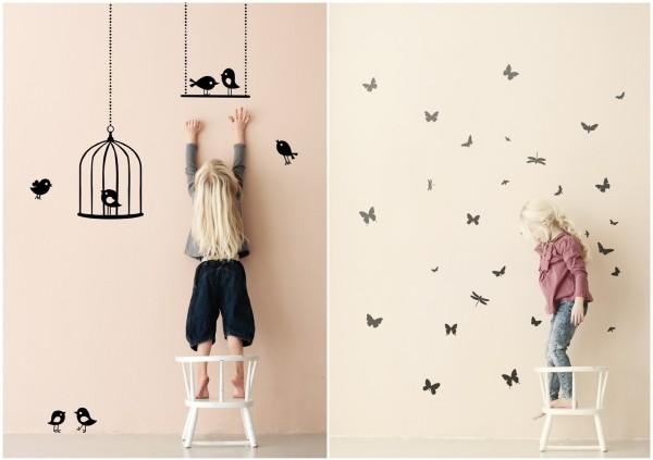 KIDS_Wallstickers_Tweeting_birds_black