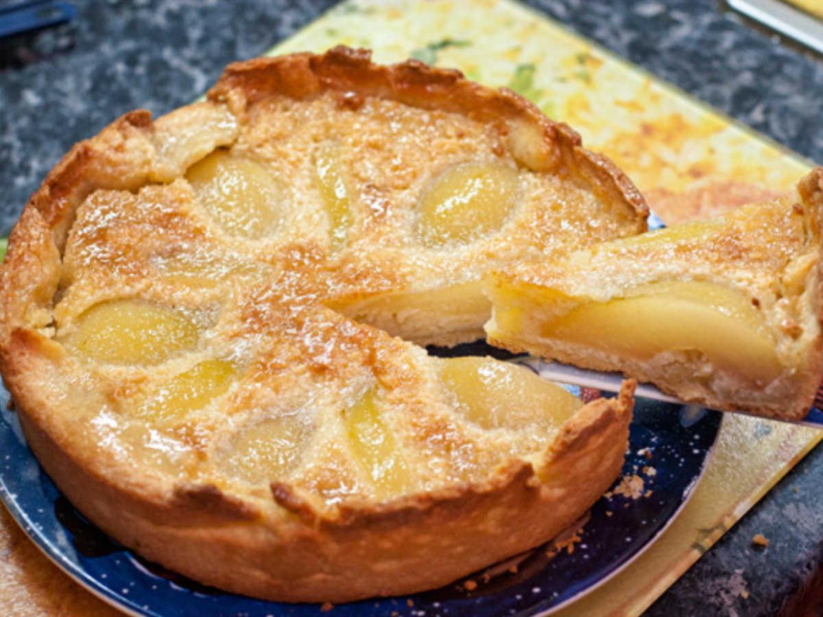 Пирог на сметане с грушами рецепт