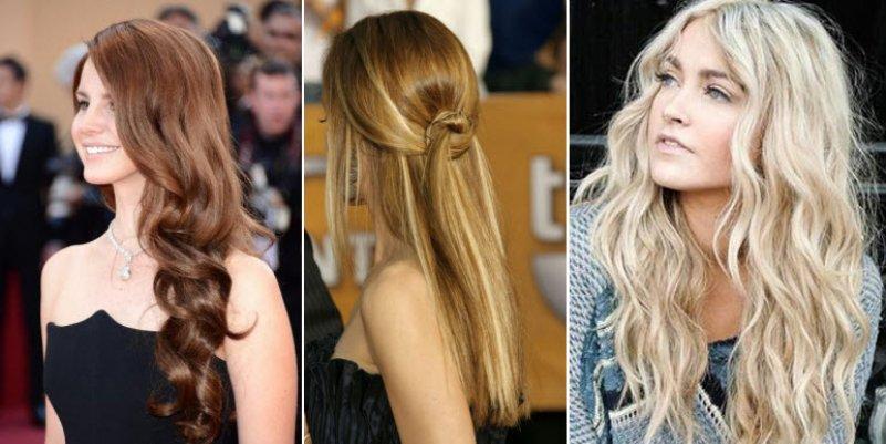 Модные прически с длинными волосами 2016 женские фото