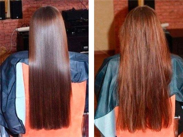 Касторовое масло на волосы