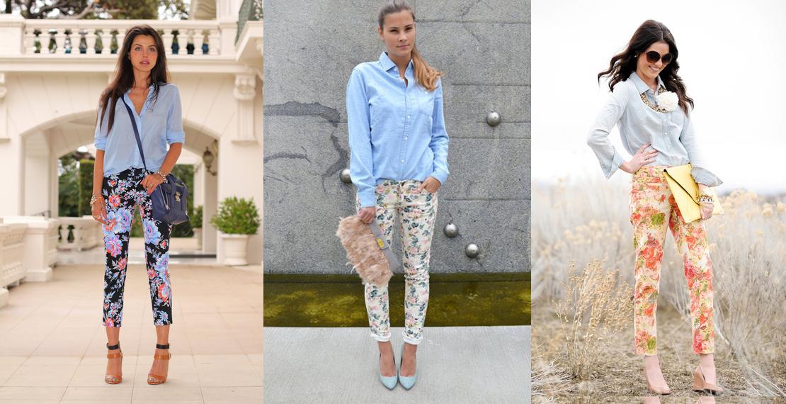 С чем носить легкие брюки из вискозы