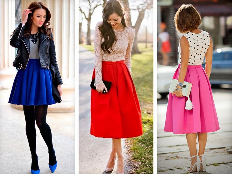 блузки к розовой юбке