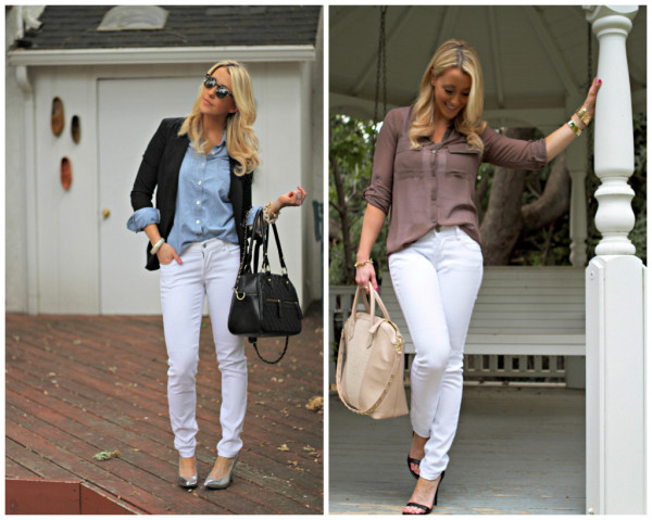 Jeans Casual Outfits Outfits With White Jeans To Wear Heey Fashion Style - Best Outfit Ideas
