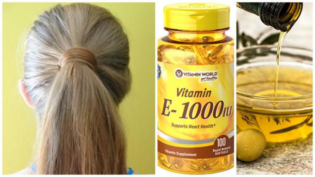 смесь масел и витаминов для волос