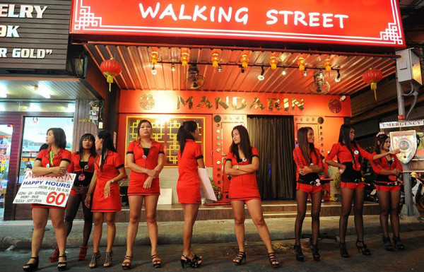 nightlife in walking Street, Pattaya, Thailand (1)