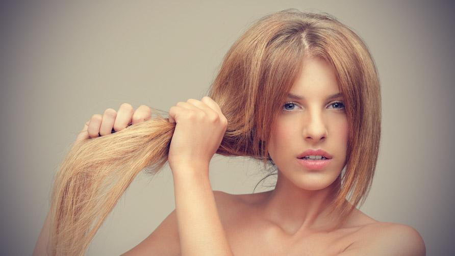 Волосы сухие как солома что делать в