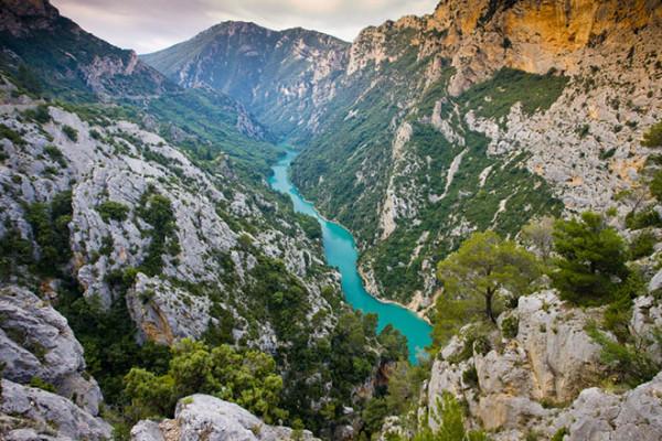 Verdon-Gorge-Canyon