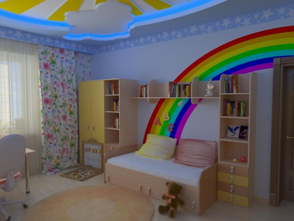 Best-Rainbow-Color-Bedroom-44-For-Your-with-Rainbow-Color-Bedroom