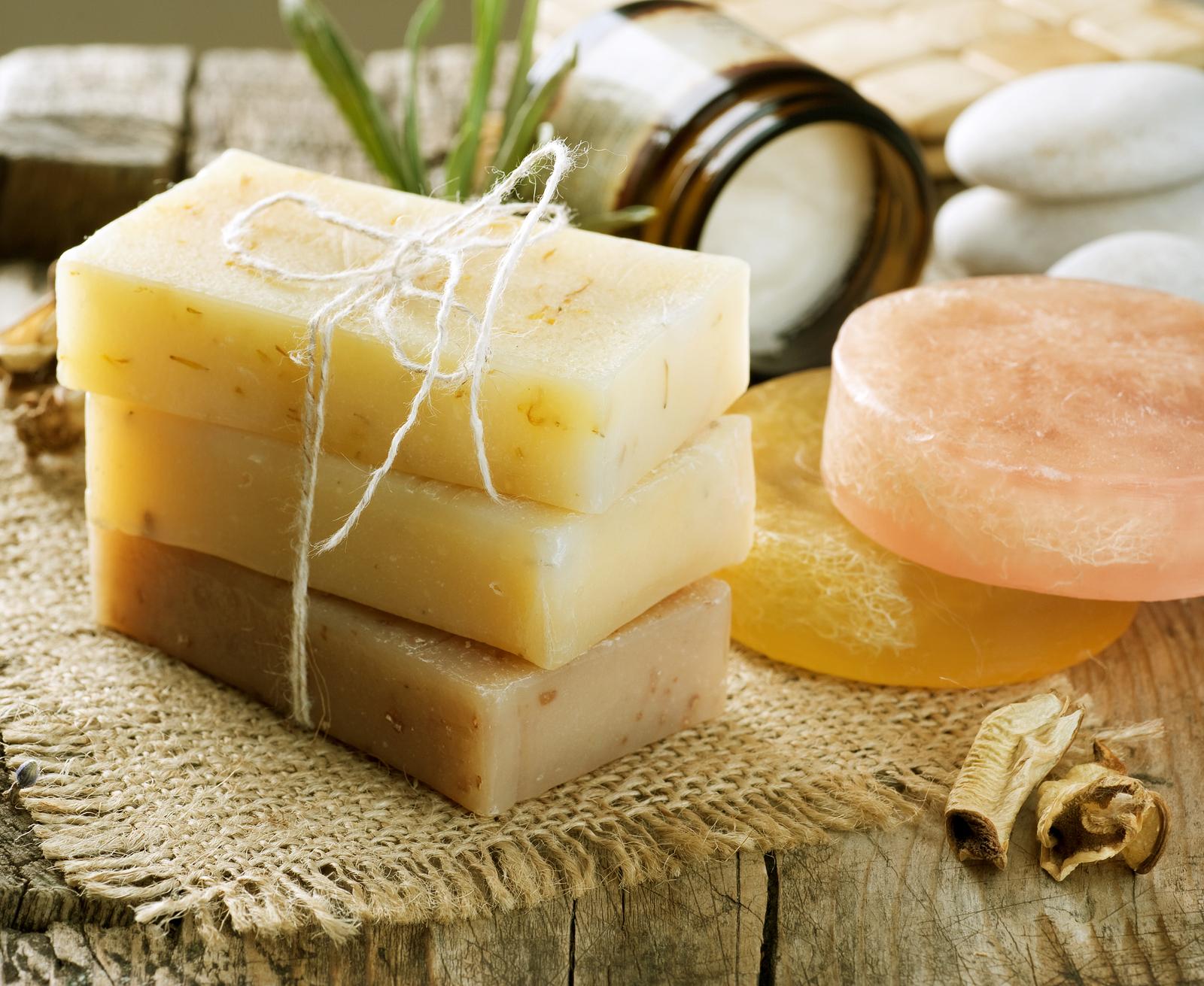Мыло с оливковым маслом своими руками